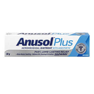 ANUSOL PLUS 30G 1%/0.5%