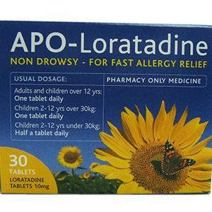 APO-LORATADINE 10MG