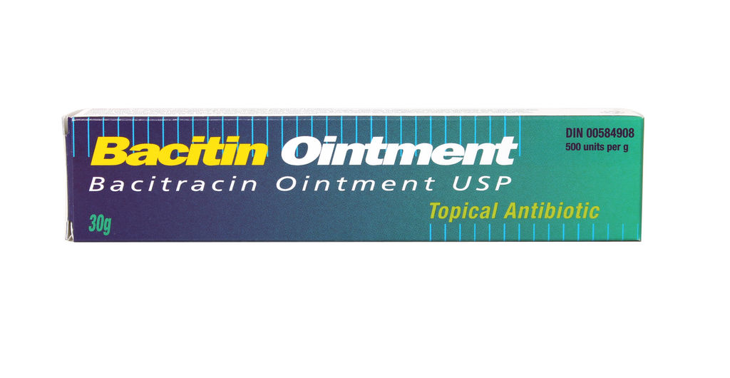 BACITIN TOP 500 UNIT/GM OINTMENT