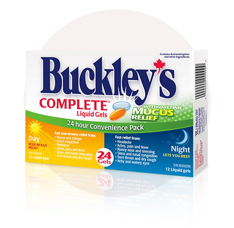 BUCKLEY'S COMPLETE DAY+MU 30-10-250