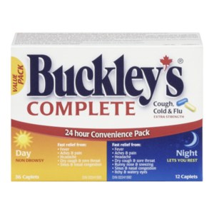 BUCKLEY'S COUGH/COLD/FLU 15/30/500MG