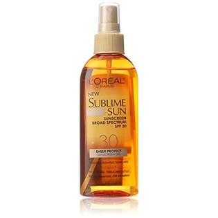 SUBLIME SUN OIL SP SPF30 3/10/5/7%/W/W